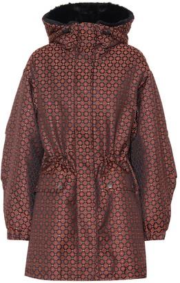 Etro Padded jacquard coat