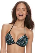 So Geometric Push-Up Triangle Bikini Top