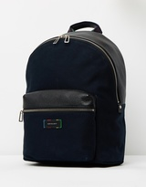 Paul Smith Rucksack Canvas Leather