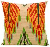 Kathy Ireland Home® by Gorham Leaves Ikat Square Throw Pillow