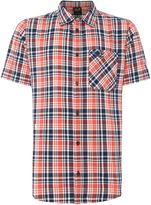 Jack Wolfskin Saint Elmos Short Sleeve Check Shirt