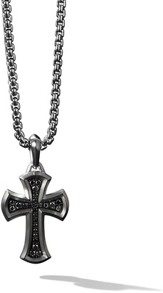David Yurman Petrvs Cross diamond pendant