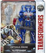 Transformers Optimus Prime Leader Four Moons Figure, Black