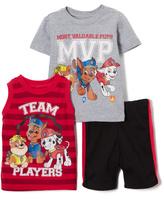 Children's Apparel Network PAW Patrol Gray & Red Tank Set - Toddler