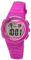 Limit Active Girl's Digital Watch with LCD Dial Digital Display and Pink Plastic Strap 5584.24