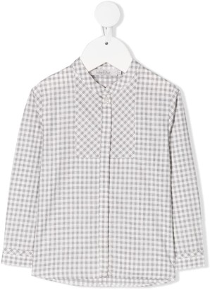 Christian Dior Gingham Print Shirt