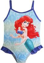 Disney baby girls Little mermaid one piece swimsuit 12m