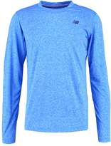 New Balance Long Sleeved Top Electric Blue Heather