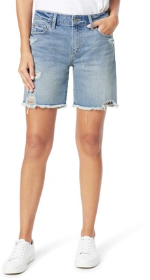 Joe's Jeans The 7 Cutoff Denim Bermuda Shorts
