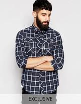 G Star G-Star Shirt Exclusive to Asos Coban Lakewood Check Overshirt