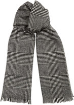 Glen Check Scarf