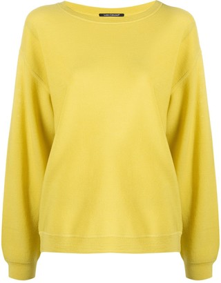 Luisa Cerano Drop-Shoulder Long-Sleeve Jumper