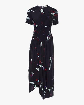 Preen Line Violet Midi Dress