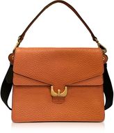 Coccinelle Ambrine Calendula Bubble Leather Satchel Bag