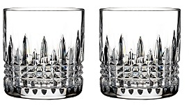 Waterford Lismore Diamond Straight Sided Tumbler, Set of 2