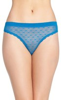 Honeydew Intimates 'Maddie' Swiss Dot Thong