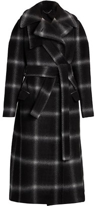 Stella McCartney Windowpane Wool Coat