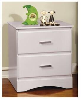 Harriet Bee Segars Kids 2 Drawer Nightstand Color: White