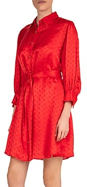 The Kooples Delicate Paisley Shirtdress