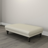 The White Company Beaufort Herringbone Ottoman