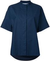Jil Sander shortsleeved shirt - women - Cotton - 38