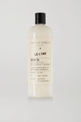 The Laundress + Le Labo Rose 31 Signature Detergent, 475ml - White