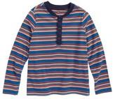 Tea Collection Toddler Boy's Ugie Stripe Henley T-Shirt