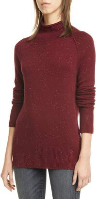 Theory Karinella Donegal Tweed Cashmere Sweater