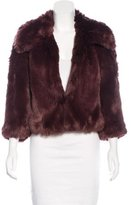 Trina Turk Faux Fur Short Coat