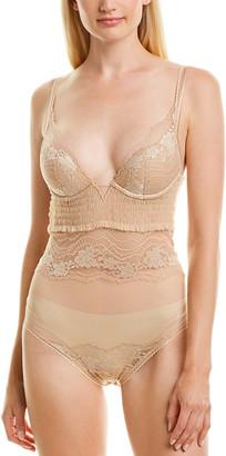 La Perla Lapis Lace Underwire Bodysuit