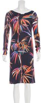 Emilio Pucci Resort 2017 Bamboo Print Dress w/ Tags