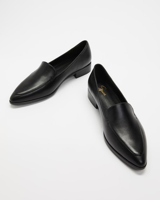 Spurr Women's Black Brogues & Loafers - Victoria Flats - Size 5 at The Iconic