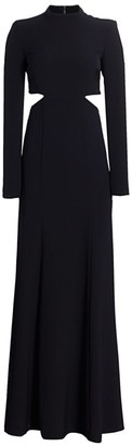 A.L.C. Gabriela High-Neck Cutout Dress