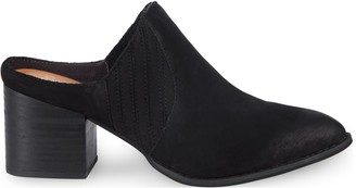 Seychelles Dialogue Almond Toe Suede Mules