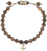 Steve Madden Tiger's Eye Beaded Bracelet