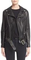 Junya Watanabe Women's Leather Moto Jacket