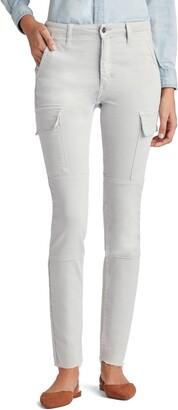 Joe's Jeans Favorite Daughter Erin High Waist Cargo Ankle Skinny Jeans