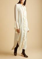 The Callen Dress in Ivory