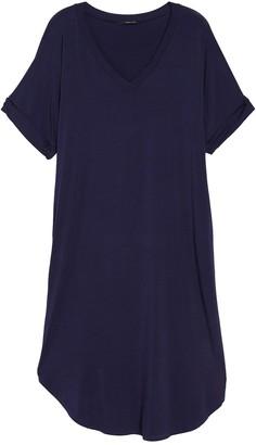 WEST KEI V-Neck Short Sleeve Knit Dress