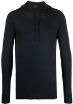 Roberto Collina lightweight knitted hoodie
