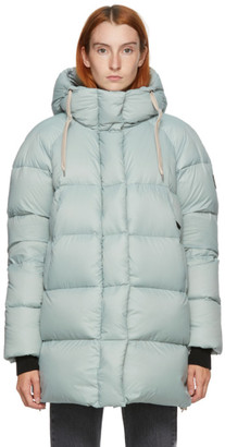 Kanuk Blue Down Kiruna Puffer Coat