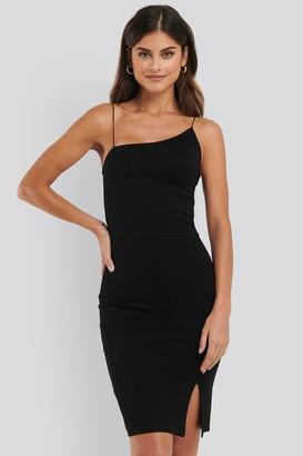 NA-KD Asymmetric Strap Short Dress