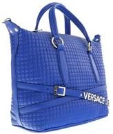 Versace Ee1vobbj1 E202 Blue Shoulder Bag.