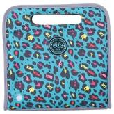 Double Dutch Club Leopard Love Teal Lunch Bag