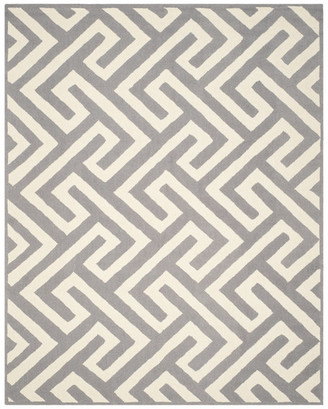 Safavieh Four Seasons Collection FRS241 Rug, Ivory/Gray, 8'x10'