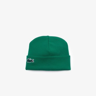 Lacoste Unisex Fashion Show Edition Ribbed Knit Beanie