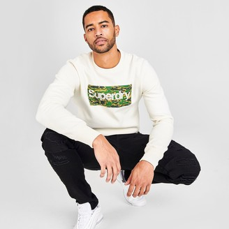 Superdry Men's Core Logo Canvas Crewneck Sweatshirt