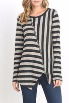 Do & Be Lana Zip Top Sweater