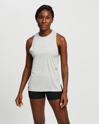 Reebok Performance - Women's Grey Muscle Tops - Les Mills Knit Tank - Size XS at The Iconic