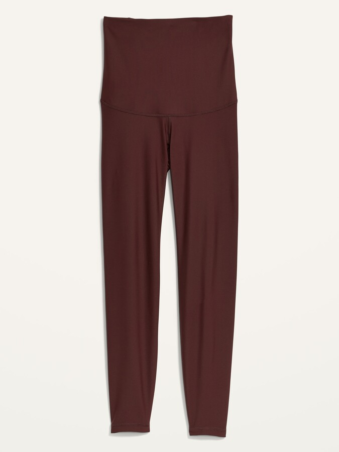Thumbnail for your product : Old Navy Maternity Full Panel Powersoft Post-Partum Support 7/8-Length Leggings